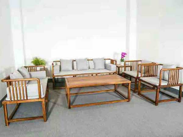 胡桃木沙发